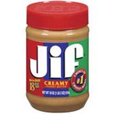 Jif Creamy Peanut Butter -40 oz