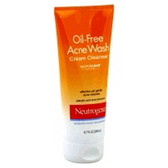 Neutrogena Oil Free Acne Wash Cream Cleanser - 6.7 Fl. Oz.