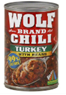 Wolf Turkey With Beans Chili, 15 OZ