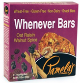 Pamela's Whenever Bars - Oat Raisin Spice -5 Bars