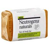 Neutrogena Naturals Face and Body Bar - 3.5 Oz