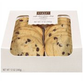 Fresh Bakery Cookies Chocolate Chip Cookies-8 ct