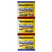 Fleischmanns Rapid Rise Yeast - 3 pk