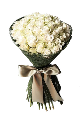 48 Roses Round Bouquet