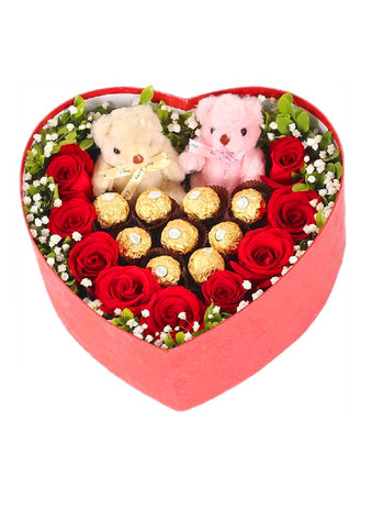 Candy lovers heart box