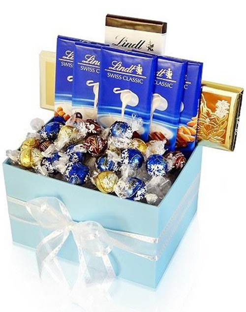 Lindt Lovers Premium Gift Box - Flower Delivery Philippines