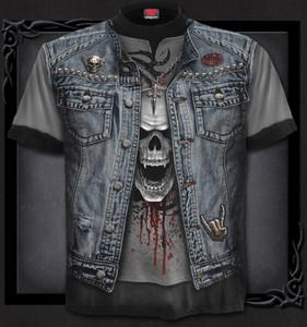 Biker Skull Vest Shirt