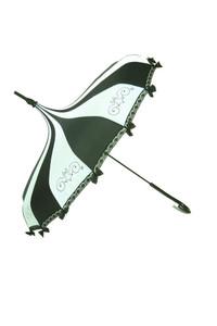 Umbrella Black and White steampunk umbrella