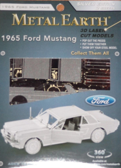 1965 Mustang Ford Metal Earth