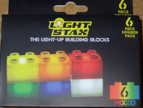 Light Stax Multicolor Expansion Pack Light Up Building Block