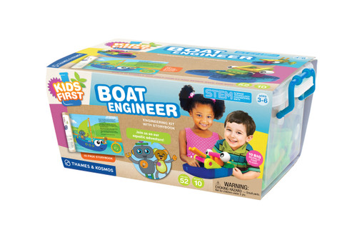 Kids First Boat Engineer Experiment Kit