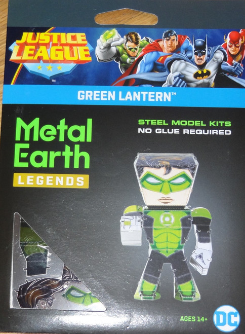 Green Lantern Metal Earth Legends