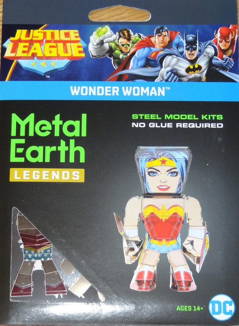 Wonder Woman Metal Earth Legends