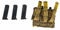 USMC II Marine Expeditionary Unit - Pistol Ammo Pouch w/ 3 Clips