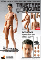 TrueType Figure: Caucasian (Narrowed Shoulder Version) - Boxed Figure