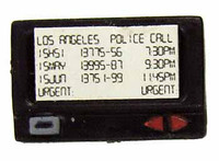 Officer Burns - Pager