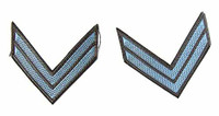 ITPT Misc: Civil War - Bluish Shoulder Patches( 2 Chevrons)