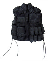 Tyrus Kilemahl - Black Tactical Vest