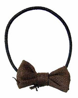Crimson - Brown Bow Tie