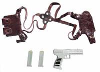 Crimson - Pistol w/ Shoulder Holster