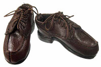 Crimson - Brown Lace Up Shoes (for feet)