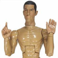 Indigo - Nude Figure (Banderas Likeness)