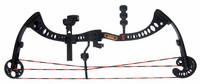 Blade Trinity: Abigail Whistler - Black Compound Bow (Open)