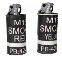 D.E.A.: Foreign Advisory Support Team (F.A.S.T.) - Smoke Grenades (2)