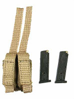 USAF CCT HALO - Pistol Ammo Pouch w/ 2 Mags