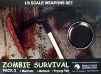 Zombie Survival Kit - Accessory Set Pack 2