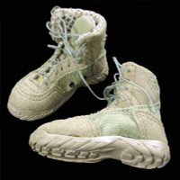 Navy SEAL Team 3 MK46 Gunner - String Tie Boots (For Feet)