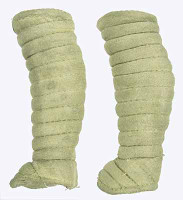 Gladiator Warriors: Flamma - Leg Wraps