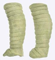 Gladiator Warriors: Flamma - Leg Wraps