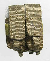USMC 2nd Marine Expeditionary Battalion in Afghanistan - Double Machine Gun Ammo Pouch