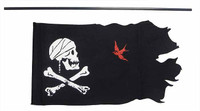 Pirates of the Caribbean: DX Jack Sparrow - Flag w/ Pole