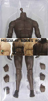 ACI - Muscle Nude Andrew: African American (Dark)