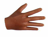 Seamless Female African American DD - Right Open Hand