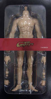 CM Toys Muscular Nude Body: Caucasian Light HJ001 - Boxed Figure