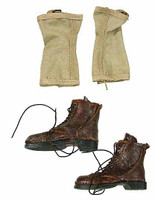 Henry Kano: 442nd Infantry - Boots (Heavily Weathered) w/ Leggings