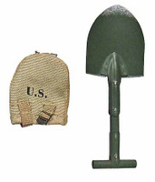 Henry Kano: 442nd Infantry - Shovel (Metal) w/ Cover