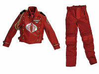 G.I. Joe: Cobra Crimson Guard - Uniform (Front is Magnetic/Removeable)