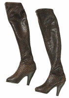 Dead Cell: Abigail Van Helsing - Brown LeatherBoots (Includes Joints)