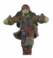 Pirates of the Caribbean: Anjelica - Captain Jack Voodoo Doll