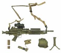 SEAL Team Six: DEVGRU Red Team - Machine Gun w/ Accessories