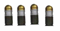 Navy SEAL Reconteam Corpsman - 40mm Grenade Rounds (4)