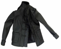 Violent Samurai - Nehru Type Black Jacket / Shirt