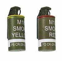 Navy SEAL Riverine Ops Rifleman (Desert Camo) - Smoke Grenades