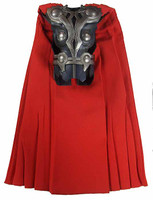 Avengers: Thor - Body Armor w/ Cape (As Is - See Note)