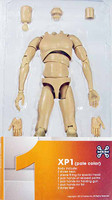 X-Series Nude: Caucasian Pale XP1 - Boxed Figure