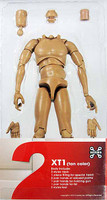 X-Series Nude: Caucasian Tan XT1 - Boxed Figure